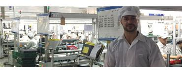 Lightbulbs on Production Scales – Auraglow Visit China