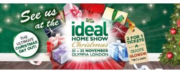 Auraglow at the Ideal Home Show Christmas