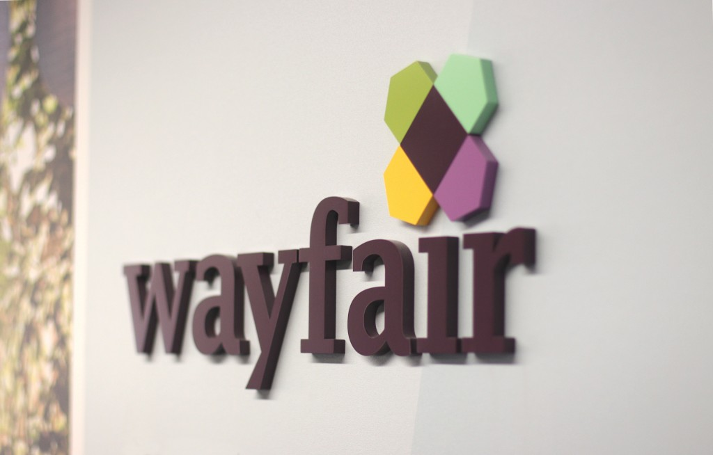 Wayfair sign